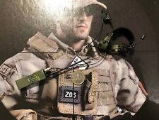 Flagset US NAVY SEALS SNIPER FS-73004 Radio & HEAD SET Loose SCALA 1/6th