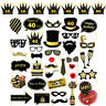 16/18/21st/30/40/50/60th 36PCS Birthday Party Photo Booth Props On Stick Selfie