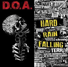 DOA Hard Rain Falling Vinyl LP Record MP3! Punk d.o.a hardcore 81 war on 45 NEW!