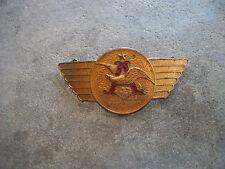 vintage Anheuser-Busch Budweiser beer truck trucker hat badge driver pin cap F