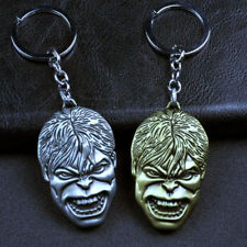 Marvel The Avengers Hulk Masks Metal Shield Keychain Super Hero Figure Keyring