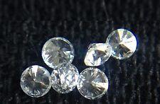 New Genuine Natural White Full Cut Round Diamond 4pc Lot 1.6mm G/VVS Melee Loose