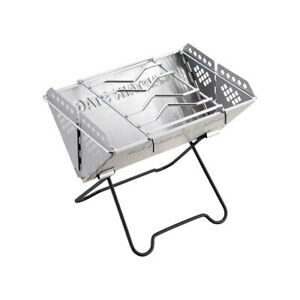 Captain Stag BBQ smart grill V-type, UG-47, stove, Folding, w/ bag, solo-camp