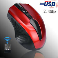 2000 DPI 2.4GHz Wireless Optical Cordless Mouse Mice + USB Receiver For Computer