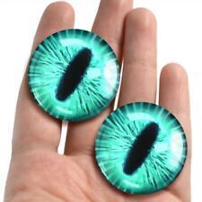 Glass Cat Eyes Animal Taxidermy Craft Eyeballs 38mm