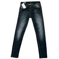 JACK & JONES Homme 'S Glenn Fox Slim Fit Taille Basse Gris Jean Taille W30