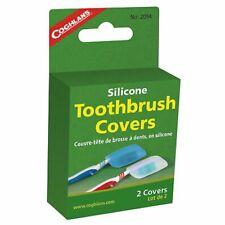 Coghlans Silikon Zahnbürstenhülle 2-Stück-Pckg blau und transparent Spülmaschine