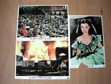 GONE WITH THE WIND Orig Lobby Cards VIVIEN LEIGH OLIVIA DE HAVILLAND CLARK GABLE