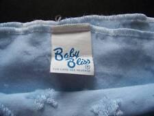 BABY BLISS Blue Blanket Plush Raised Stars