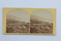 Menton Foto Louis-Alphonse Davanne di Carta Albume D'Uovo Vintage Circa