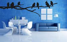 Wall Stickers Vinyl Decal Birds Branch Nature Fauna Wall Decor Mural  ig052
