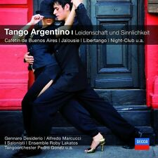 Tango argentino passione e sentimento CD NUOVO