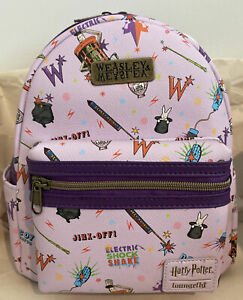 Loungefly Harry Potter Weasleys' Wizard Wheezes Mini Backpack New With Tags