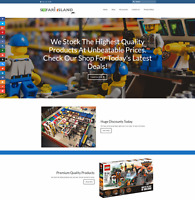 LEGO TOYS AND KITS Website Earn £41 A SALE|FREE Domain|FREE Hosting|FREE Traffic
