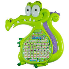Crocodile Multi function Ypad Education Learning Music Toy Tablet Gift for Kids