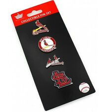 St Louis Cardinals Logo Pin Set