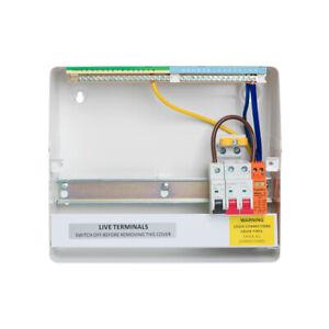 Fusebox Main Switch Distribution Boards & Accessories - Latest Range