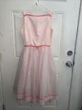 New listing Jr.Theme Vintage 60s Soft Pink Dress