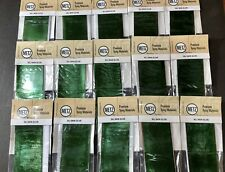 (15) Pack Lot of Metz Sili Skin - Olive. Fly Tying Material For Gummy Minnow.