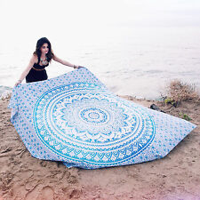Indian Tapestry Mandala Wall Hanging Ethnic Throw Twin Bedspread Hippie Blanket