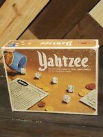 Vintage 1978 Yahtzee Game By Milton Bradley In Original Box. See Description.