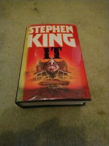 Stephen King IT Hardback 1987