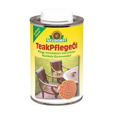 NEUDORFF-teakpflegeöl 500 ml Teck Huile-meubles de jardin Soins Entretien