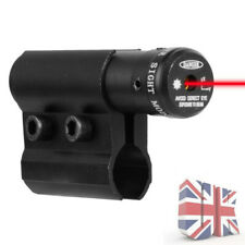 Tactical Red Laser Dot Sight Scope+Airsoft Pistol Rail Mount For Hunting UK