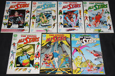 DC Copper Age YOUNG ALL-STARS 7pc Mid-High Grade Comic Lot VF-NM