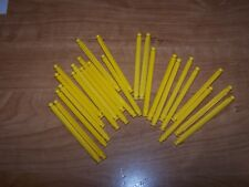 K'nex Yellow 3 7/16 Standard Rods Lot of 25