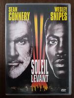 DVD Film Soleil levant avec Sean Connery