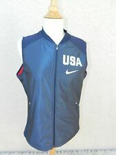 Nike Vest  Olympics Team USA Basketball Hyper Elite Blue Red Vest Size Large