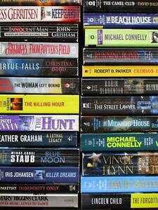 MYSTERY THRILLER SUSPENSE 20 RANDOM PB Book Lot Top Authors UNSORTED Fiction Mix