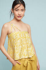 NWT Sz XL Anthropologie Metallic Sun-Etched Cami Blouse Size 14 16 Top