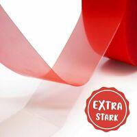 gws Doppelseitiges Klebeband | Premium-Qualität stark haftend | Breite: 6- 50 mm