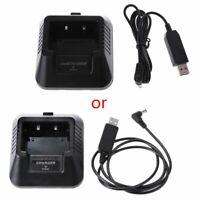 UV-5R USB Battery Charger for Baofeng UV-5R DM-5R UV-5RE Walkie Talkie Ham Radio