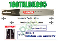"Oregon 130txlbk095 Grigio 180txlbk095 18"" Guide Bar"