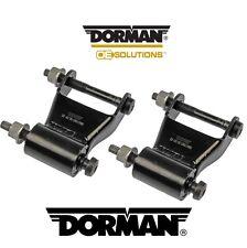 For Dodge Ram 94-02 Pair Set Of 2 Rear Position Leaf Springs Shackles Kit Dorman