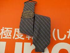 SUPERDRY Premium Slim Tie Men's Tartan Dark Green Long Skinny Cotton Ties BNWT