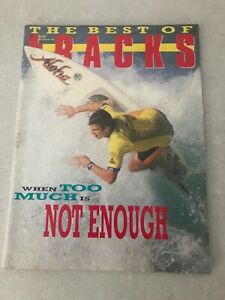 RARE AUSTRALIAN Best Of TRACKS SURFING MAGAZINE May 1988, 114 Pages