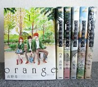 Orange Vol.1-6 Complete Set Japanese Comics Manga