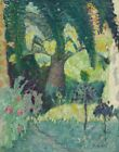 Pierre Bonnard Pink Palm Tree With Cane Canvas Print 16 x 20    #9913