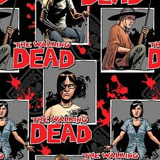 Skybound The Walking Dead Ready For War 100% cotton Fabric by the yard