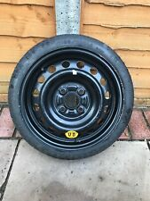 """GENUINE NISSAN MICRA 2010-2014 14"""" SPACE SAVER SPARE WHEEL & T105/70  D14 TYRE."""