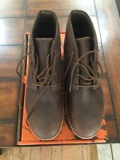 Word by Redwings #5406 Men's 12 M Chuka brown Steel safety toe work boots