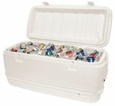 White Igloo MaxCold Quick & Cool 120qt 114 Litre Large Size Cooler Cool Ice Box