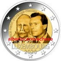 2 euro 2020 Lussemburgo Luxembourg Luxemburg Luxemburgo Henri Orange Nassau