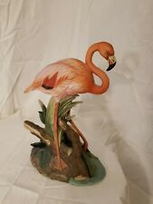 Andrea By Sadek Flamingo By Andrea 6953 Vintage Porcelain Figurine From 1983