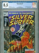 1969 MARVEL SILVER SURFER #8 1ST FLYING DUTCHMAN CGC 8.5 WHITE UNPRESSED BOX2