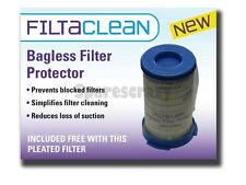 To fit Electrolux EF75B Vacuum Cleaner Filter Pack With FREE FILTACLEAN